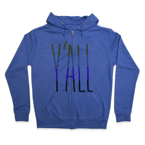 Non-Binary Y'all Zip Hoodie