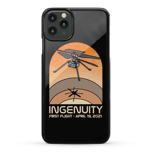 Ingenuity First Flight Date Phone Case