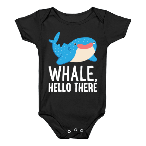 Whale, Hello There Baby Onesy