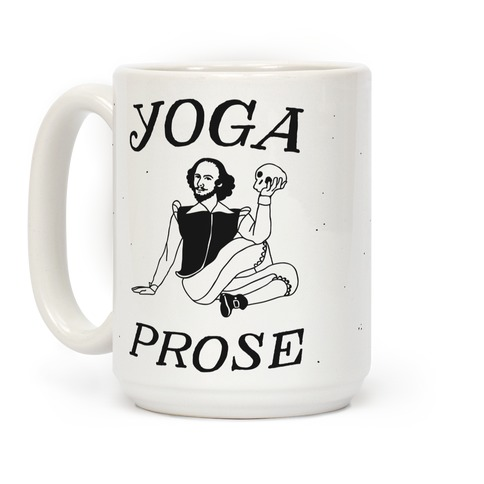 Yoga Prose Coffee Mug