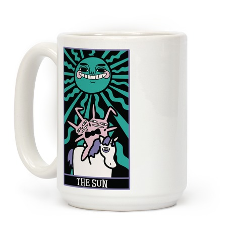 Creepy Cute Tarots: The Sun Coffee Mug