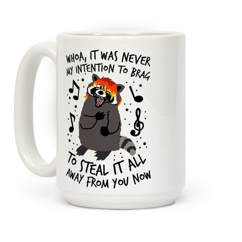 Misery Business Emo Raccoon Parody Coffee Mug