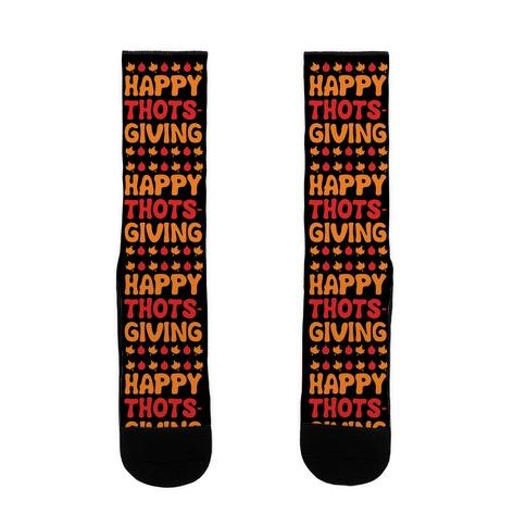 Happy Thots-Giving Sock
