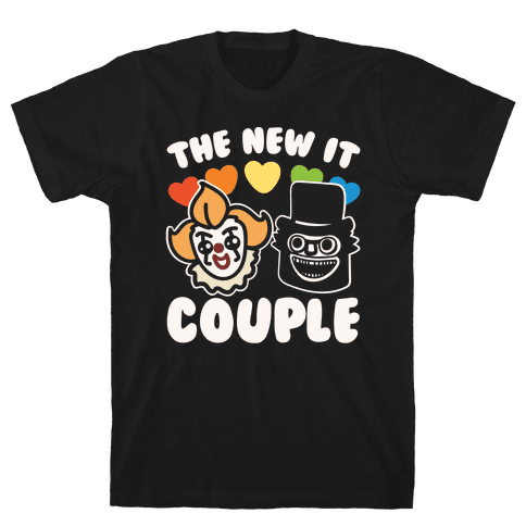 The New It Couple Parody White Print Mens T-Shirt
