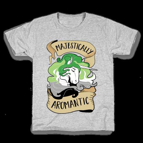 Majestically Aromantic Kids T-Shirt