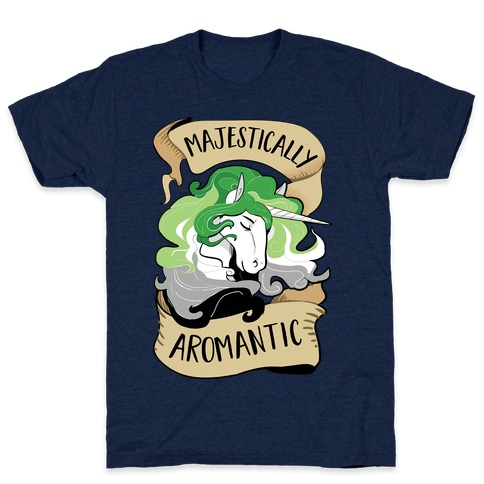 Majestically Aromantic Mens T-Shirt