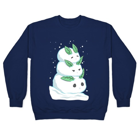 Stacked Snow Bunnies Pullover