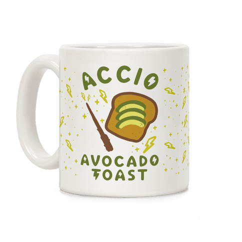 Accio Avocado Toast Coffee Mug