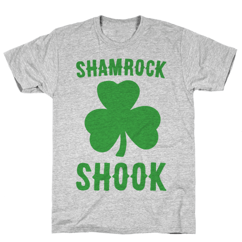Shamrock Shook Mens T-Shirt