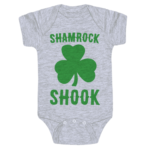 Shamrock Shook Baby Onesy