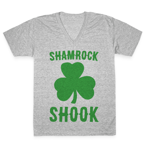 Shamrock Shook V-Neck Tee Shirt