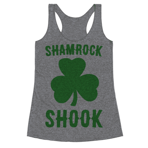 Shamrock Shook Racerback Tank Top