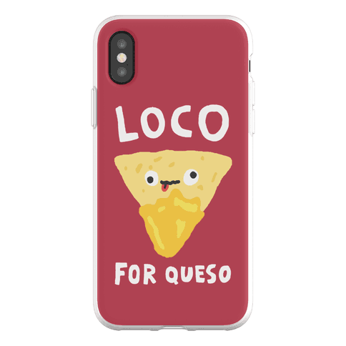 Loco For Queso Phone Flexi-Case