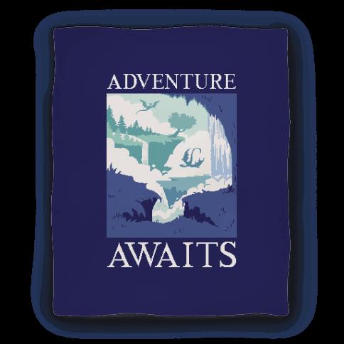Adventure Awaits Blanket