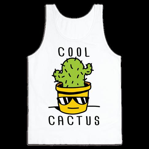 Cool Cactus Tank Top
