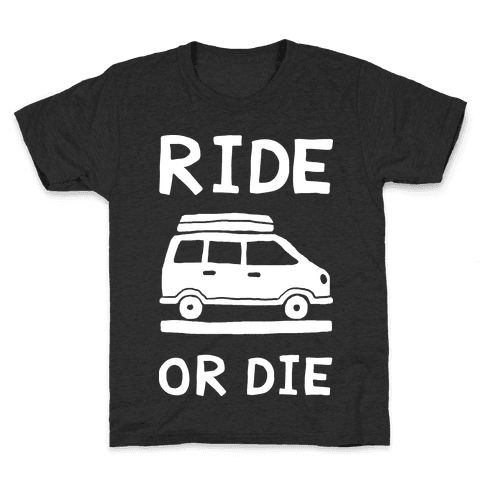 Ride Or Die Road Trip Kids T-Shirt