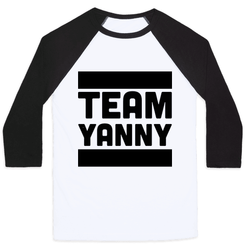Team Yanny Baseball Tee
