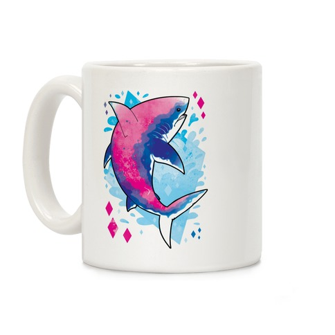 Pride Sharks: Bisexual Coffee Mug