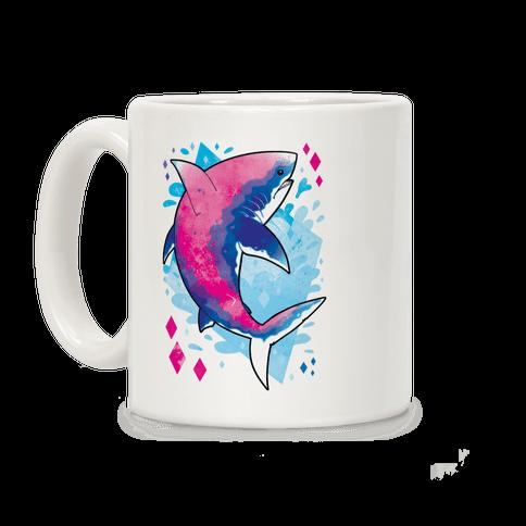 Pride Sharks: Bisexual Coffee Mug