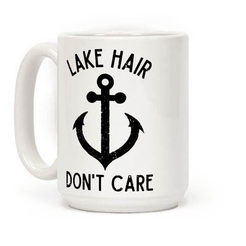 Lake Hair Don't Care Coffee Mug