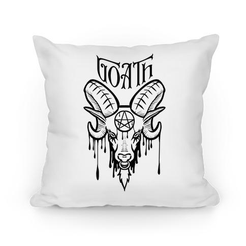 Goath (white) Pillow