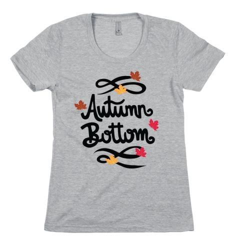 Autumn Bottom Womens T-Shirt