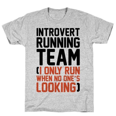 Introvert Running Team T-Shirt