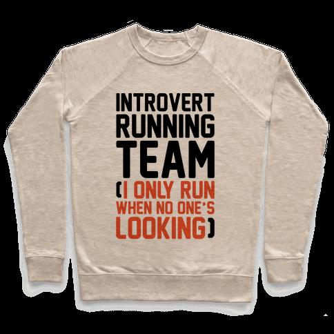 Introvert Running Team Pullover