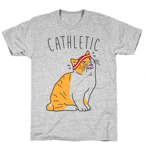 Cathletic Mens T-Shirt