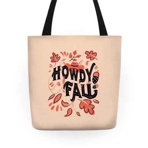 Howdy Fall Tote