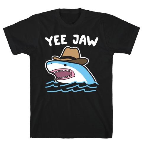 Yee Jaw Cowboy Shark T-Shirt