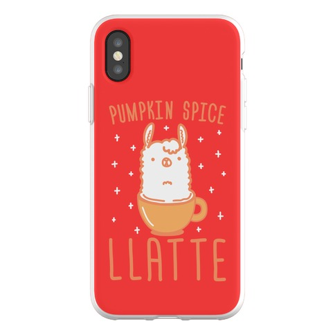 Pumpkin Spice Llatte Phone Flexi-Case