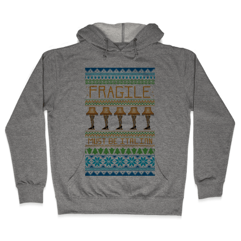 A Major Award Ugly Sweater Hooded Sweatshirt