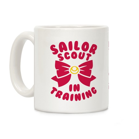 Sailor Scout In Training Coffee Mug
