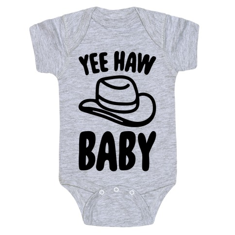 Yee Haw Baby Baby Onesy