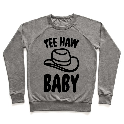 Yee Haw Baby Pullover