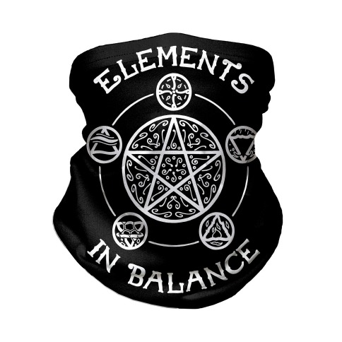 Witch's Elements In Balance Neck Gaiter