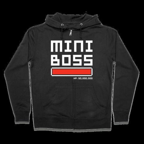 Mini Boss Zip Hoodie
