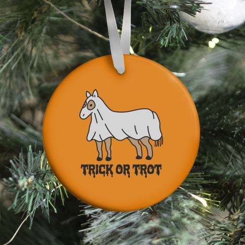 Trick Or Trot Ornament