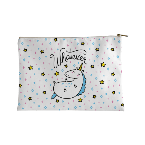 Whatever Unicorn Accessory Bag