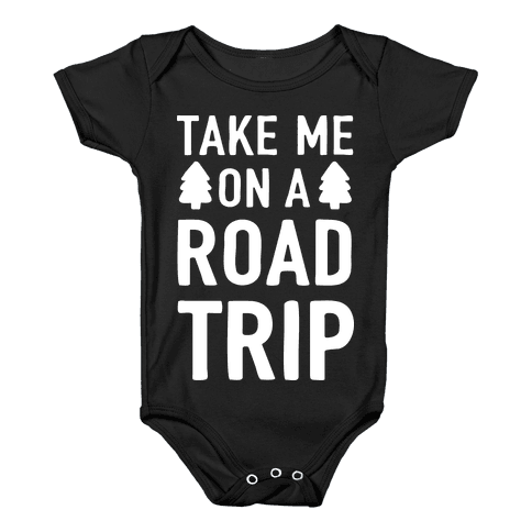 Take Me On A Road Trip Baby Onesy