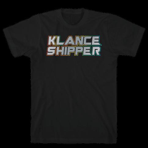 Klance Shipper Parody White Print Mens T-Shirt