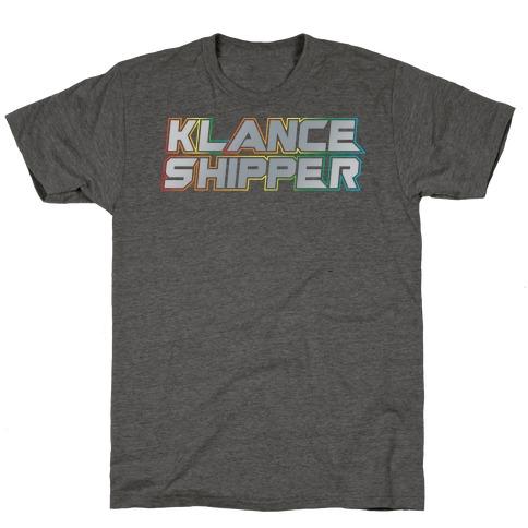 Klance Shipper Parody White Print T-Shirt