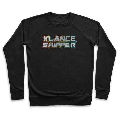 Klance Shipper Parody White Print Pullover