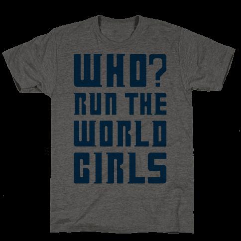 Who Run The World Girls Doctor Who Parody