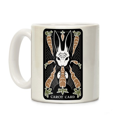 Carot Card Coffee Mug