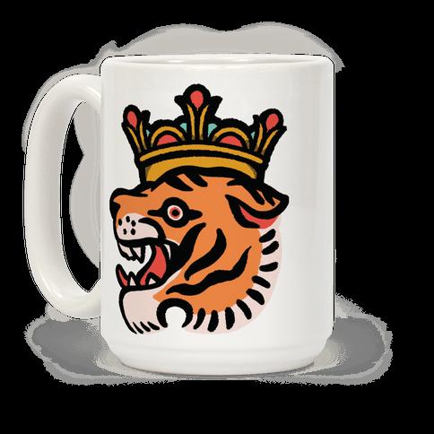 Tiger King Tiger with a Crown Coffee Mug
