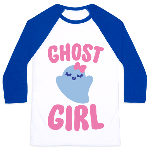 Ghost Girl Baseball Tee