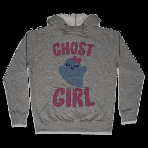 Ghost Girl Hooded Sweatshirt