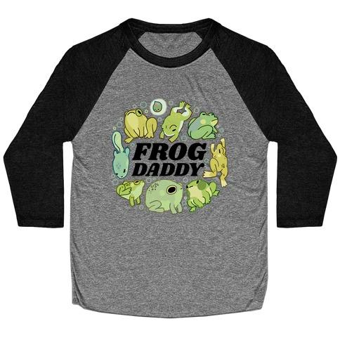 Frog Daddy Baseball Tee